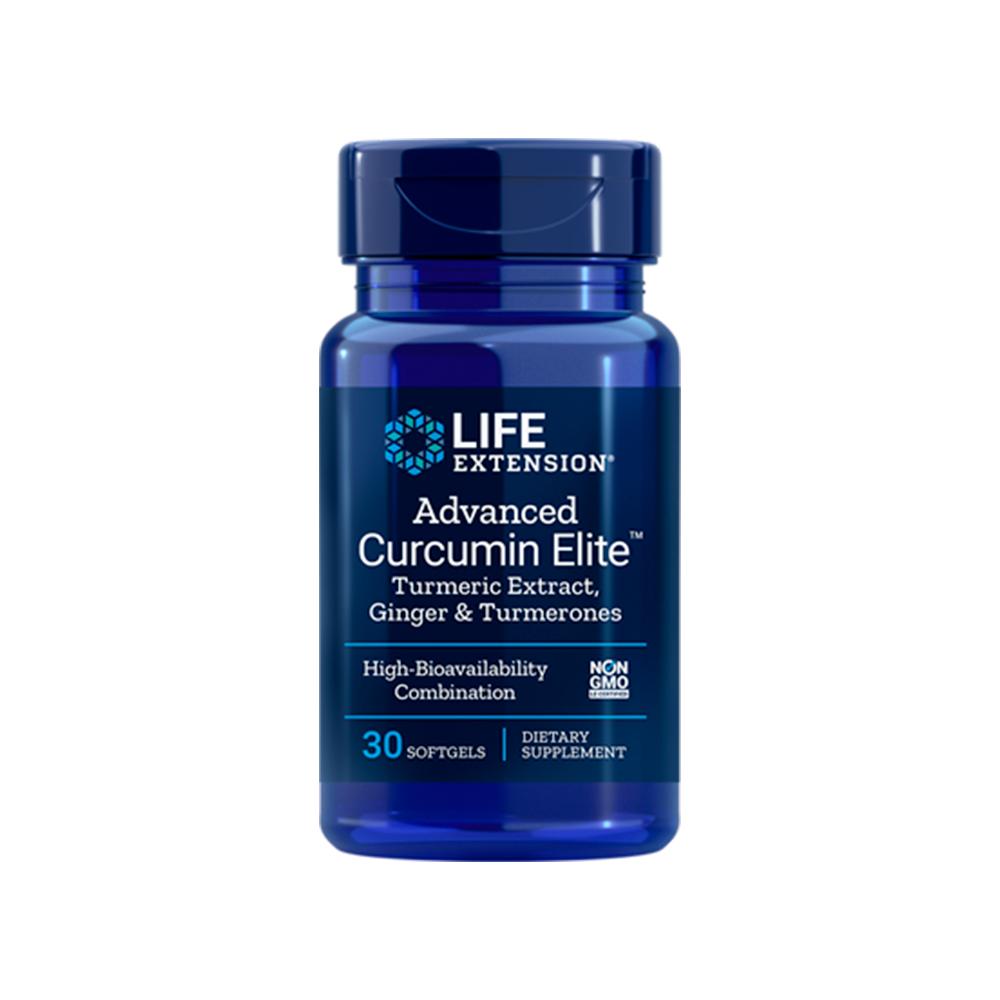 Advanced Curcumin Elite™ Turmeric Extract, Ginger & Turmerones