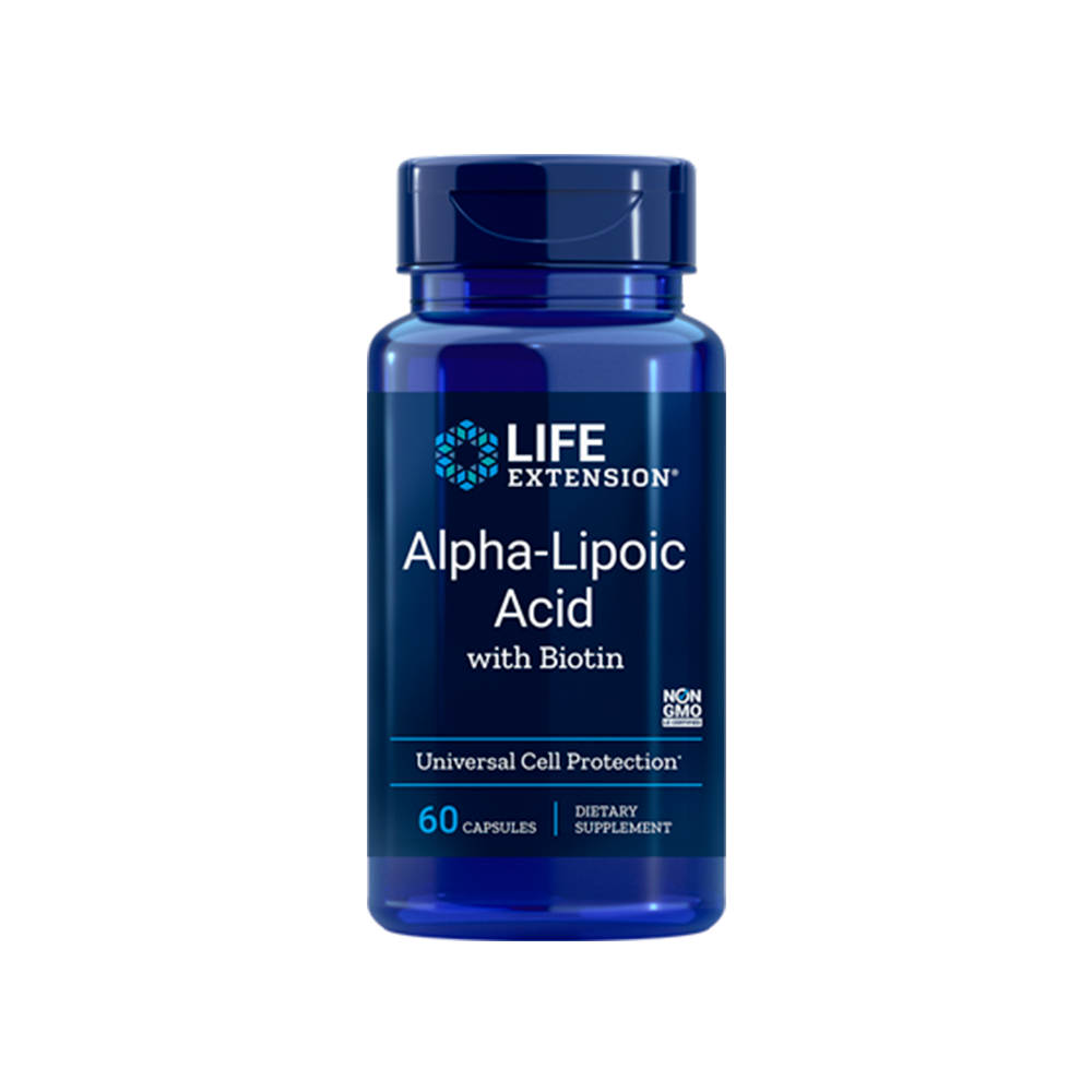 Alpha-Lipoic Acid with Biotin - 60caps