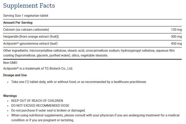 Tabela Nutricional AMPK Metabolic Activator - 30caps