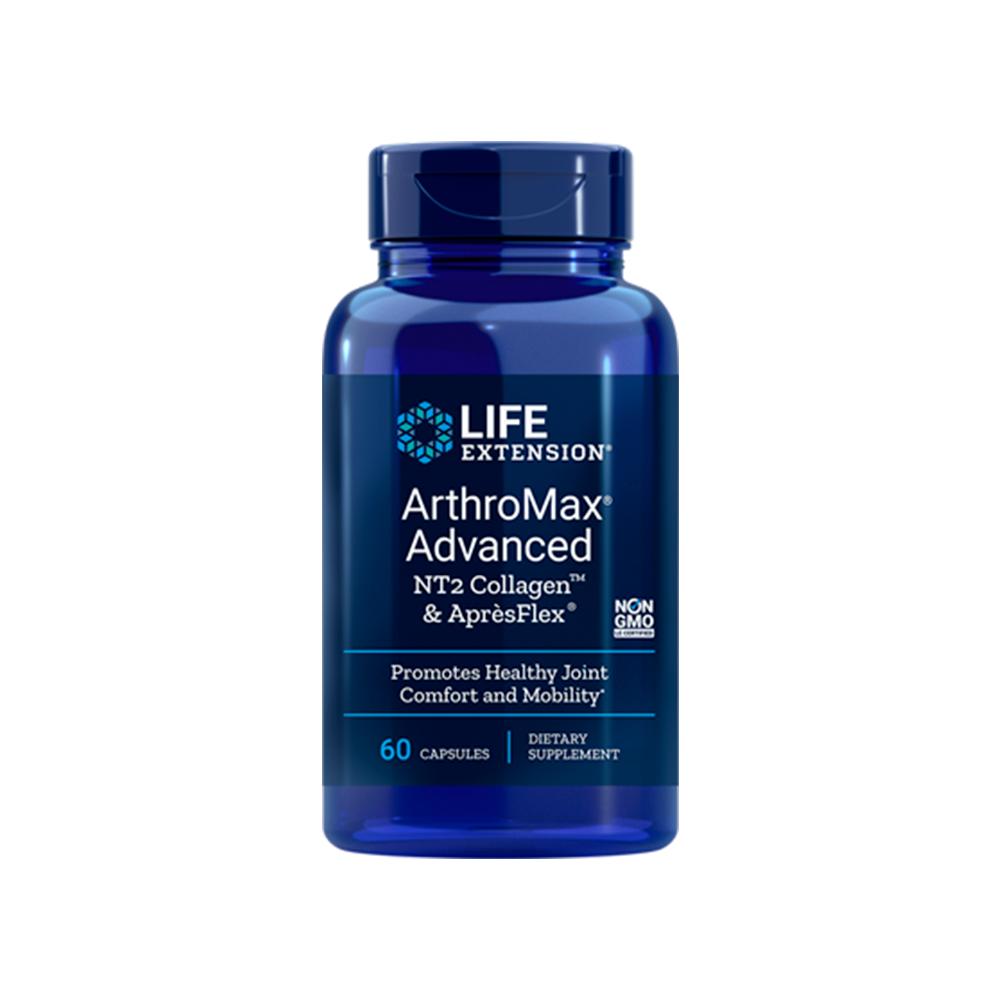 ArthroMax® Advanced com NT2 Collagen ™ e AprèsFlex® - 60caps