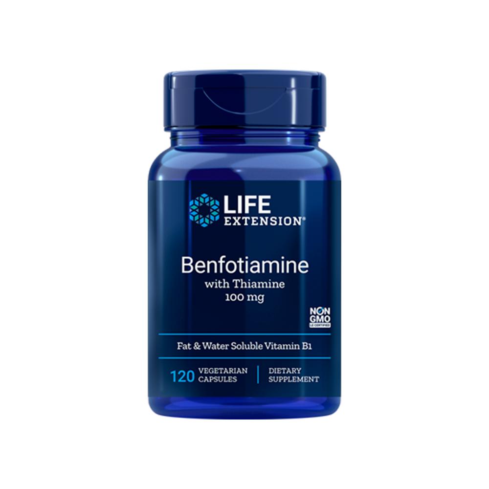 Benfotiamine with Thiamine 100mg - 120caps