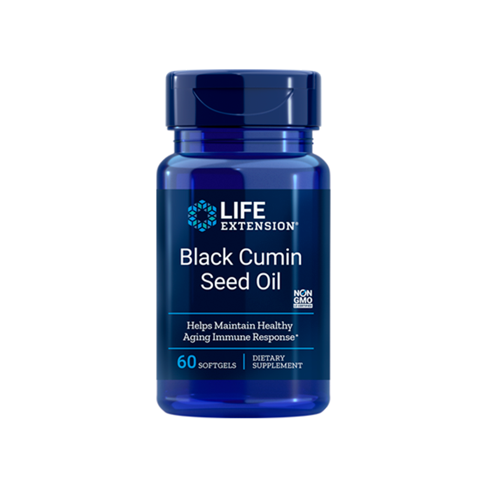 Black Cumin Seed Oil - 60caps