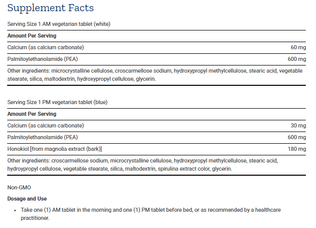 Tabela Nutricional ComfortMAX™