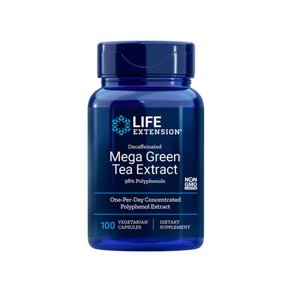 Decaffeinated Mega Green Tea Extract