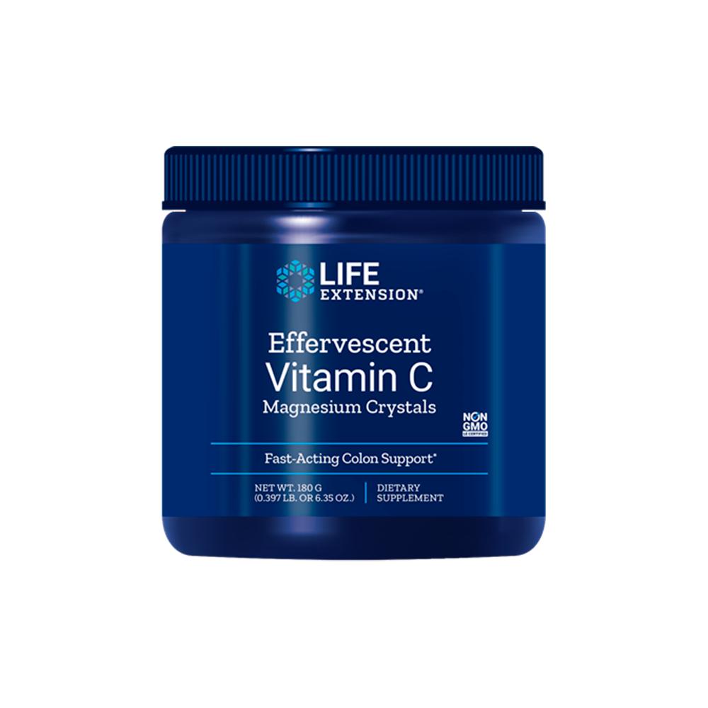 Effervescent Vitamin C Magnesium Crystals