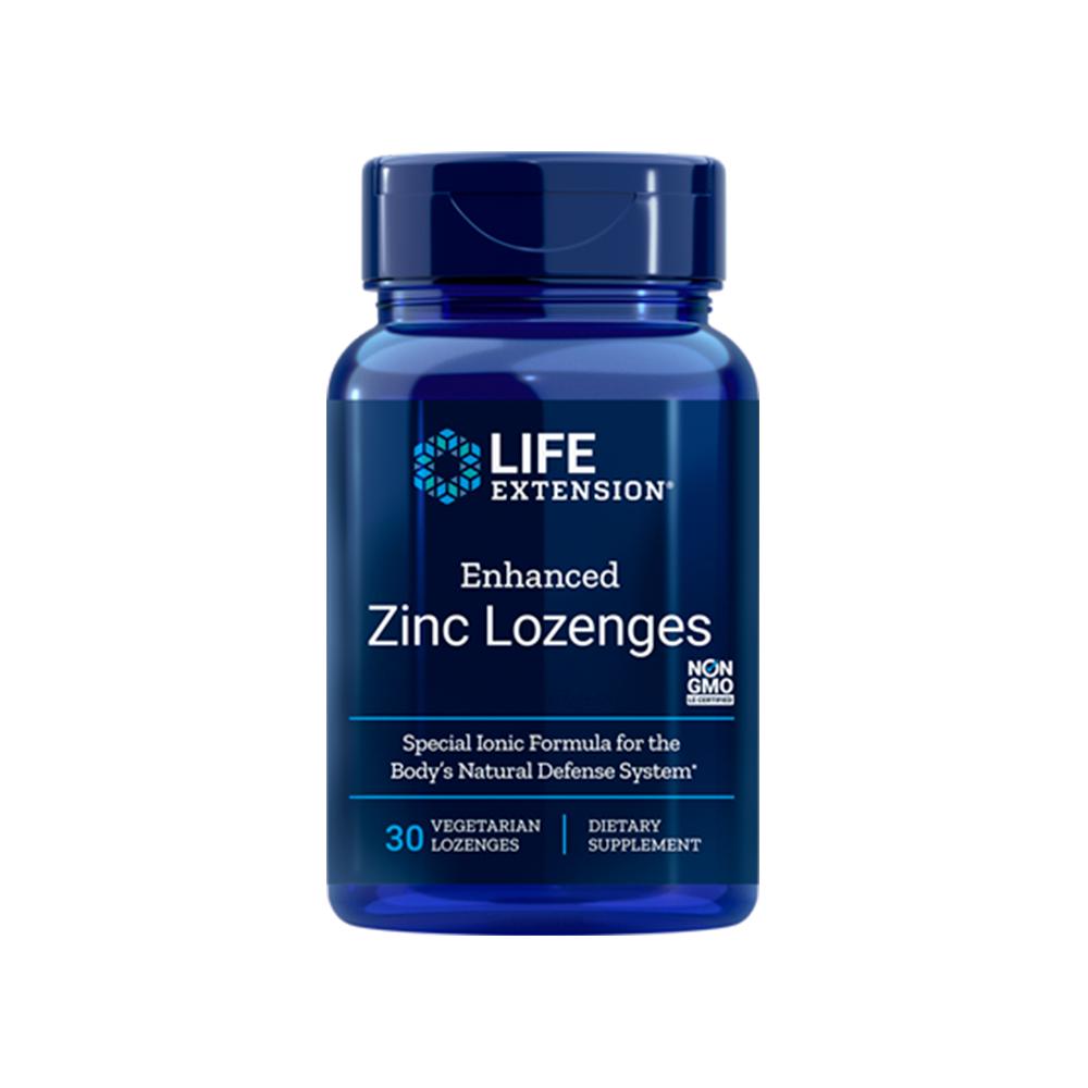 Enhanced Zinc Lozenges (Peppermint)