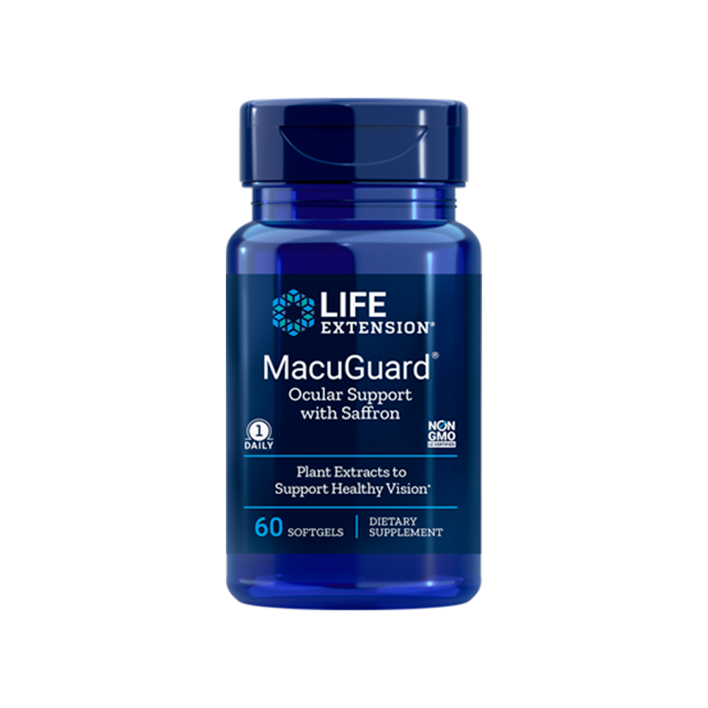 MacuGuard® Ocular Support with Saffron