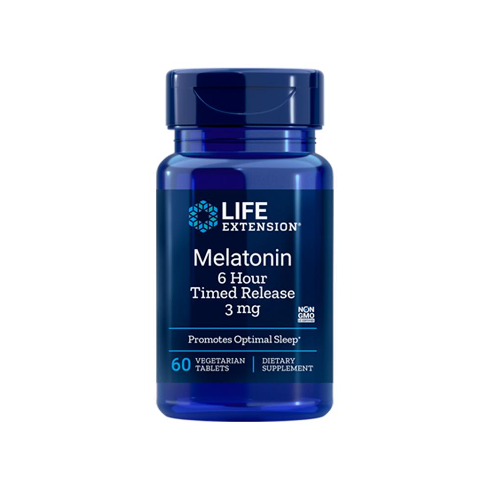 Melatonin 6 Hour Timed Release 3 mg