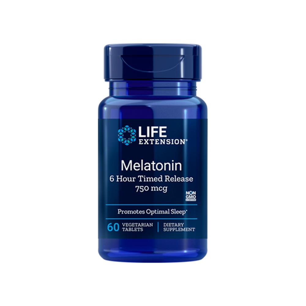 Melatonin 6 Hour Timed Release 750 mcg