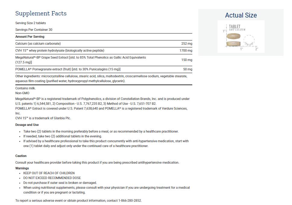 Tabela Nutricional Optimal BP Management