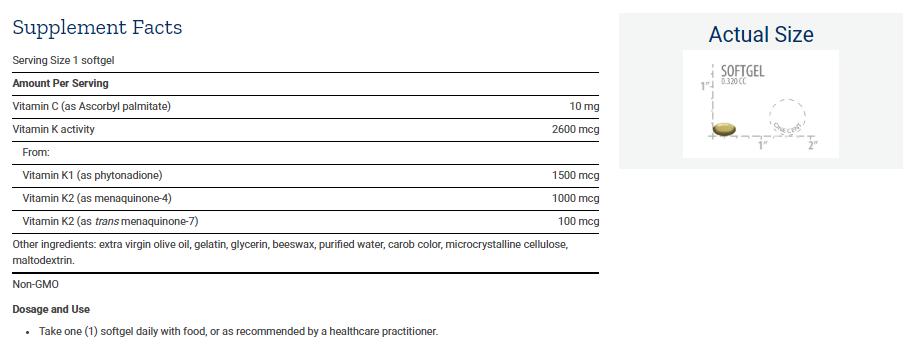 Tabela Nutricional Super K