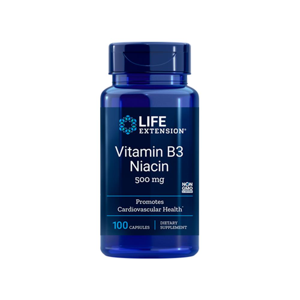Vitamin B3 Niacin •500 mg