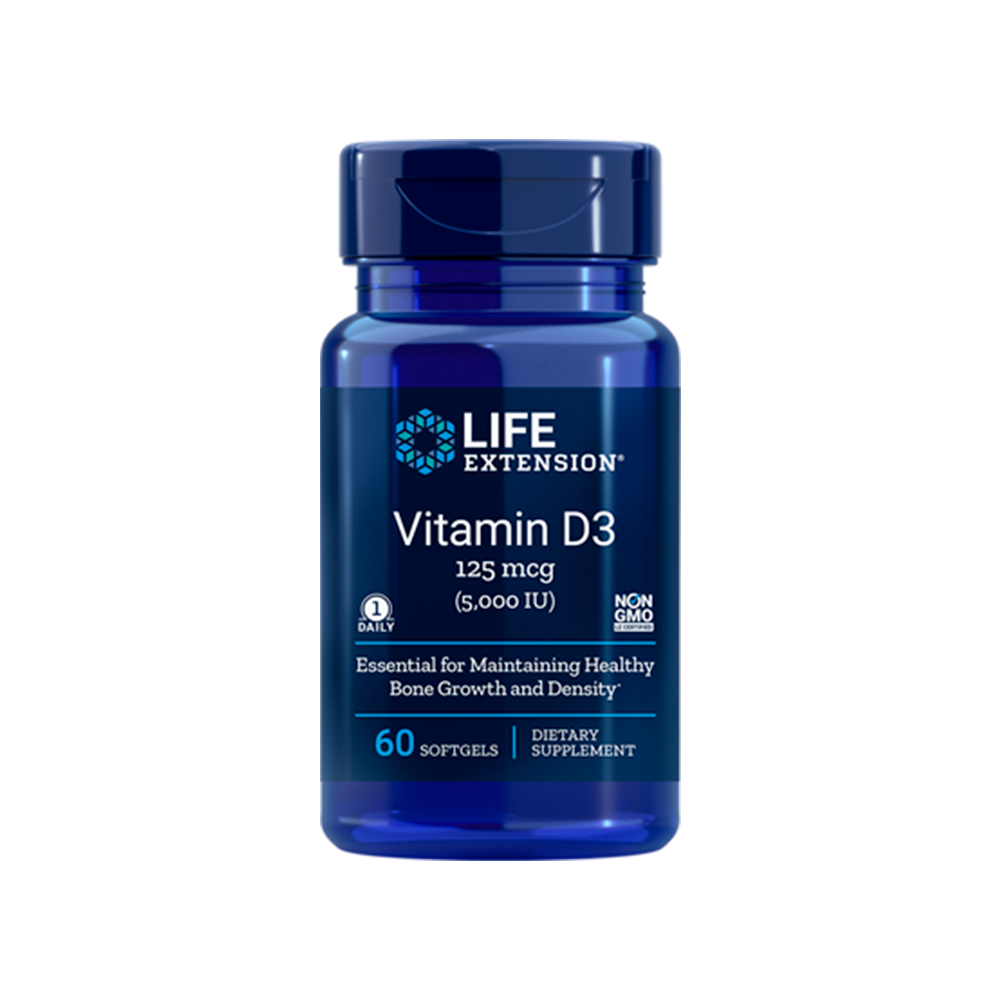 Vitamin D3  - 125 mcg (5000 IU)