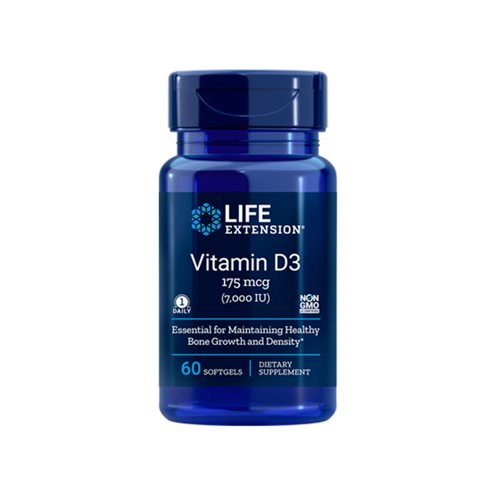 Vitamin D3 - 175 mcg (7000 IU)