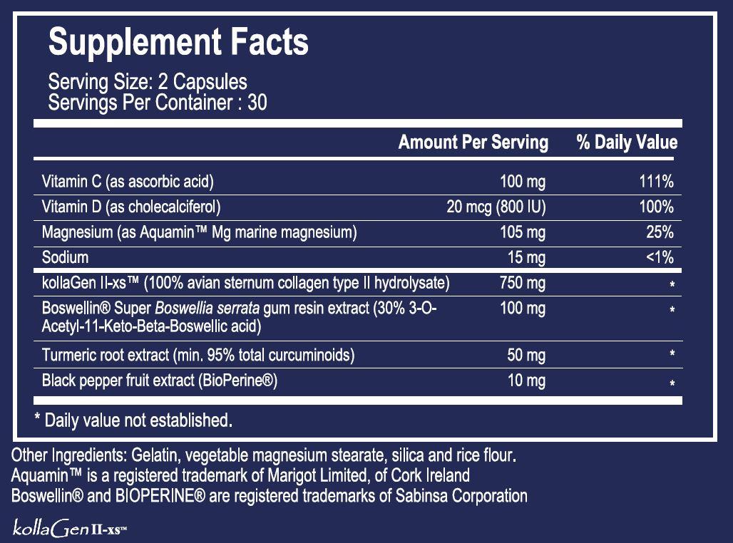 Tabela Nutricional ActivMotion™