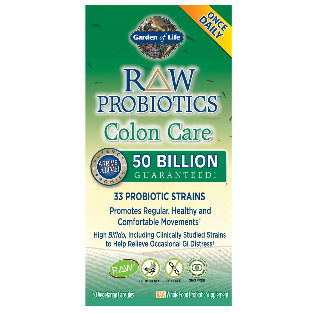 Raw Probiotics Colon Care cooler
