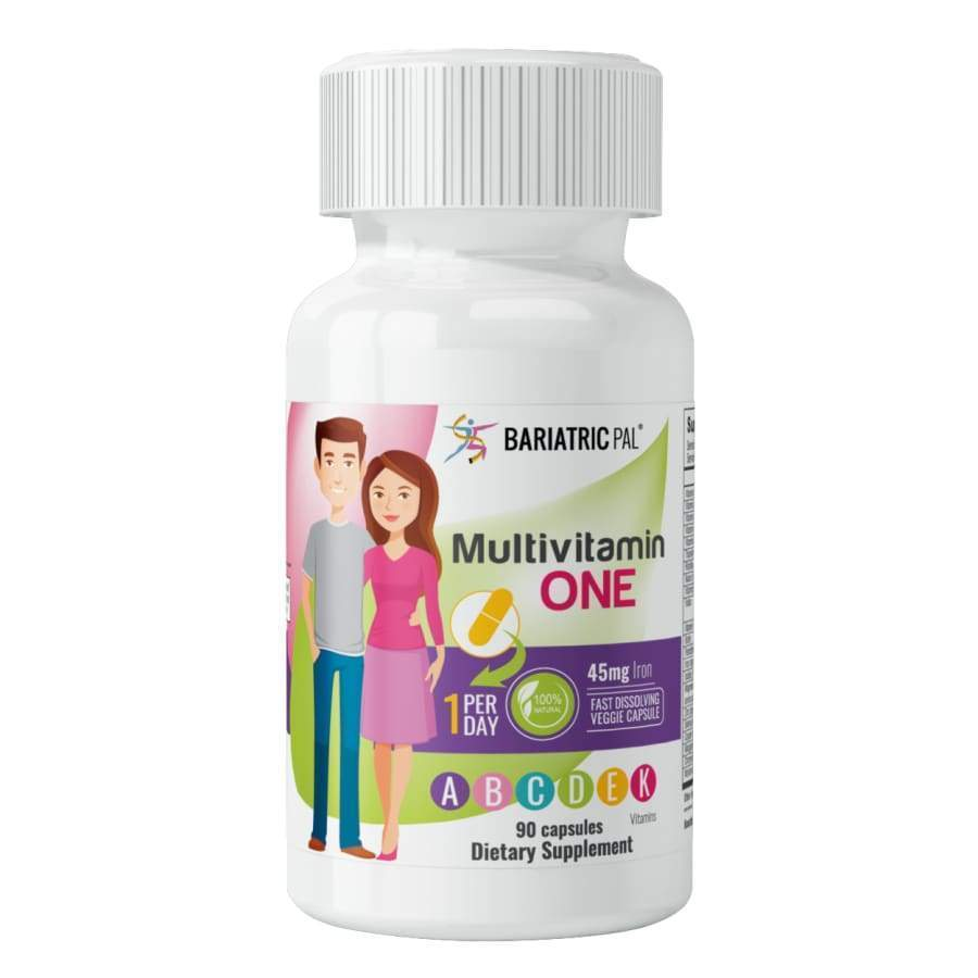 "BariatricPal Multivitamin ONE ""1 per Day!"" Capsule with 45mg Iron"