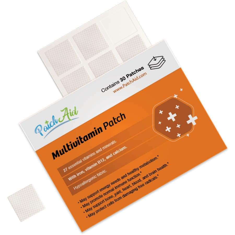 Patch tópico MultiVitamin Plus da PatchAid