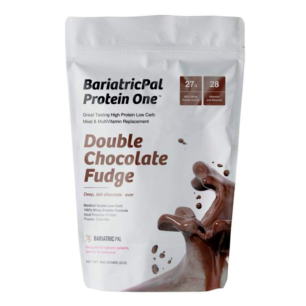 BariatricPal Protein ONE Complete Meal Replacement with Multivitamin Chocolate Fudge