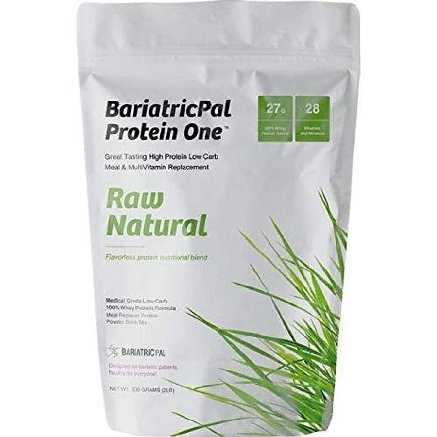 BariatricPal Protein ONE: MultiVitamin, Calcium, Iron, Fiber & Meal Replacement - Unflavored