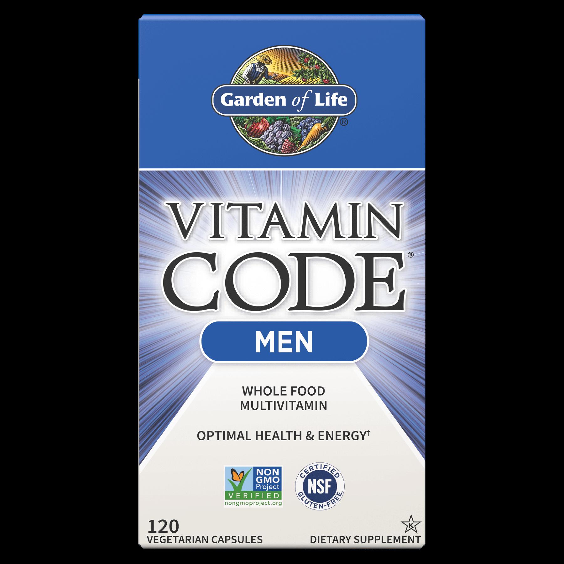 Vitamin Code Men Multivitamin