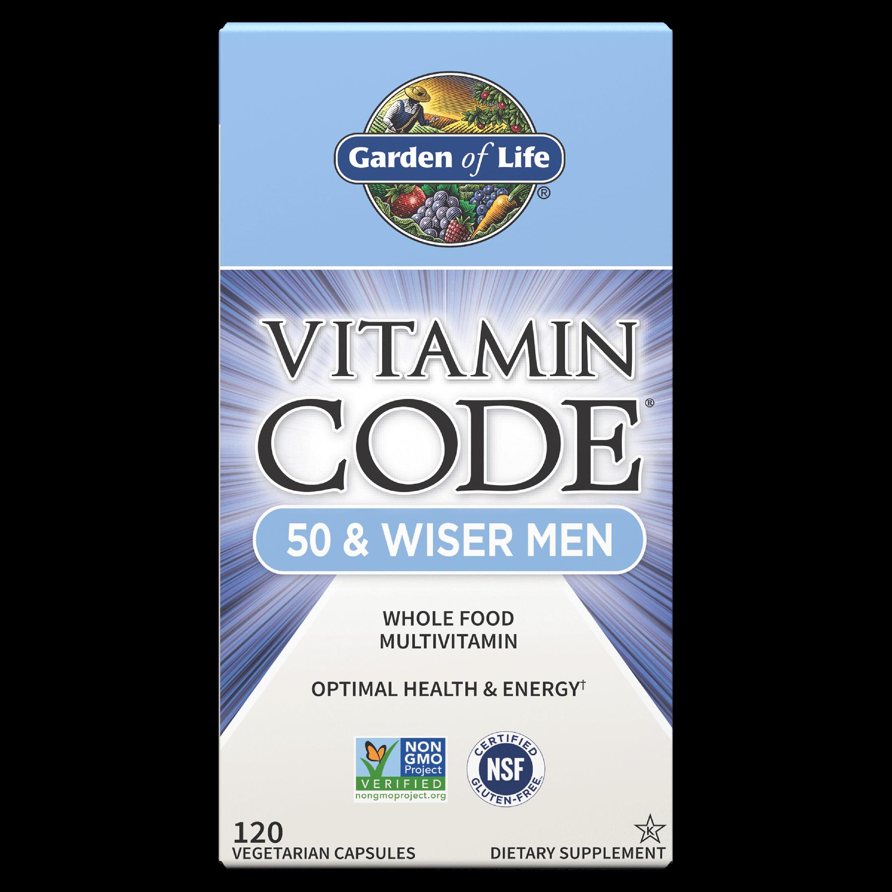Vitamin Code 50 & Wiser Men