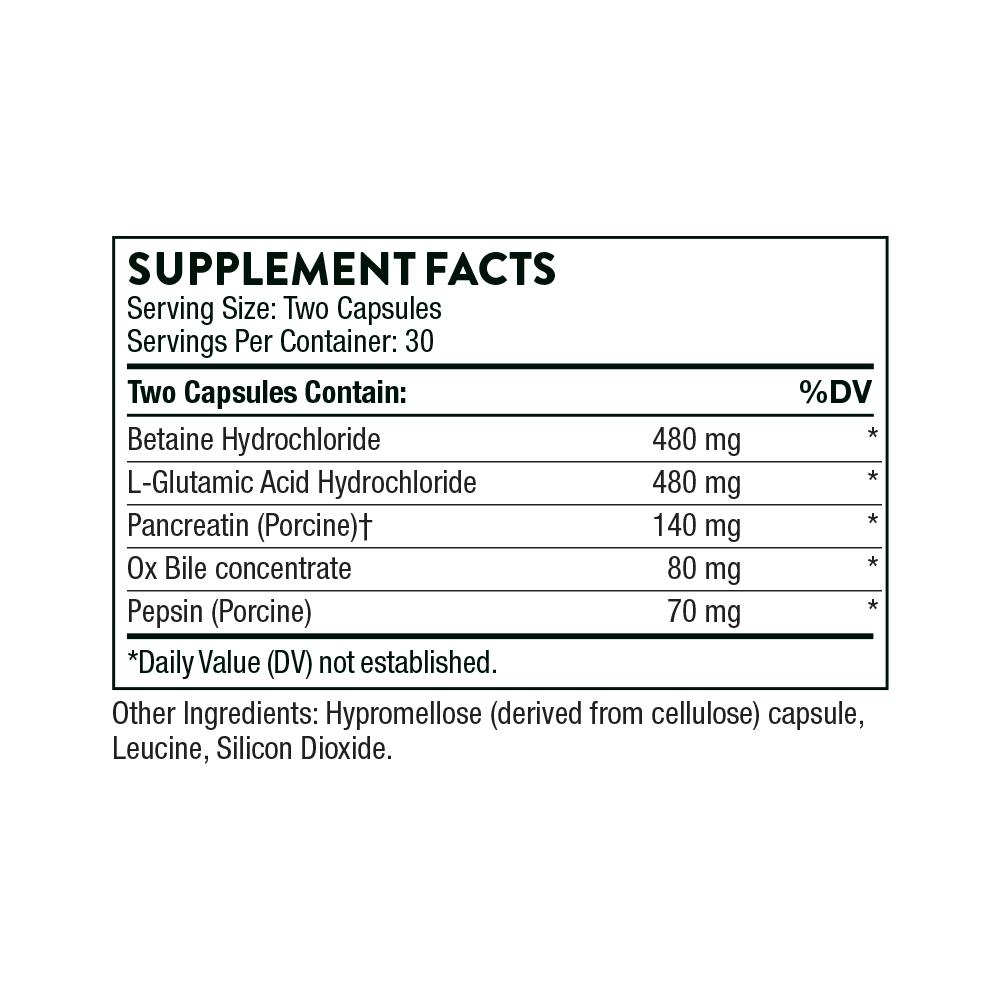 Tabela Nutricional Bio-Gest