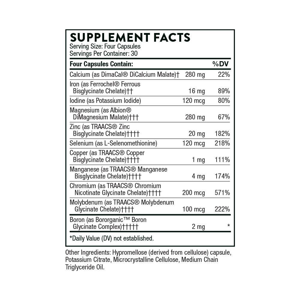 Tabela Nutricional BioMins®