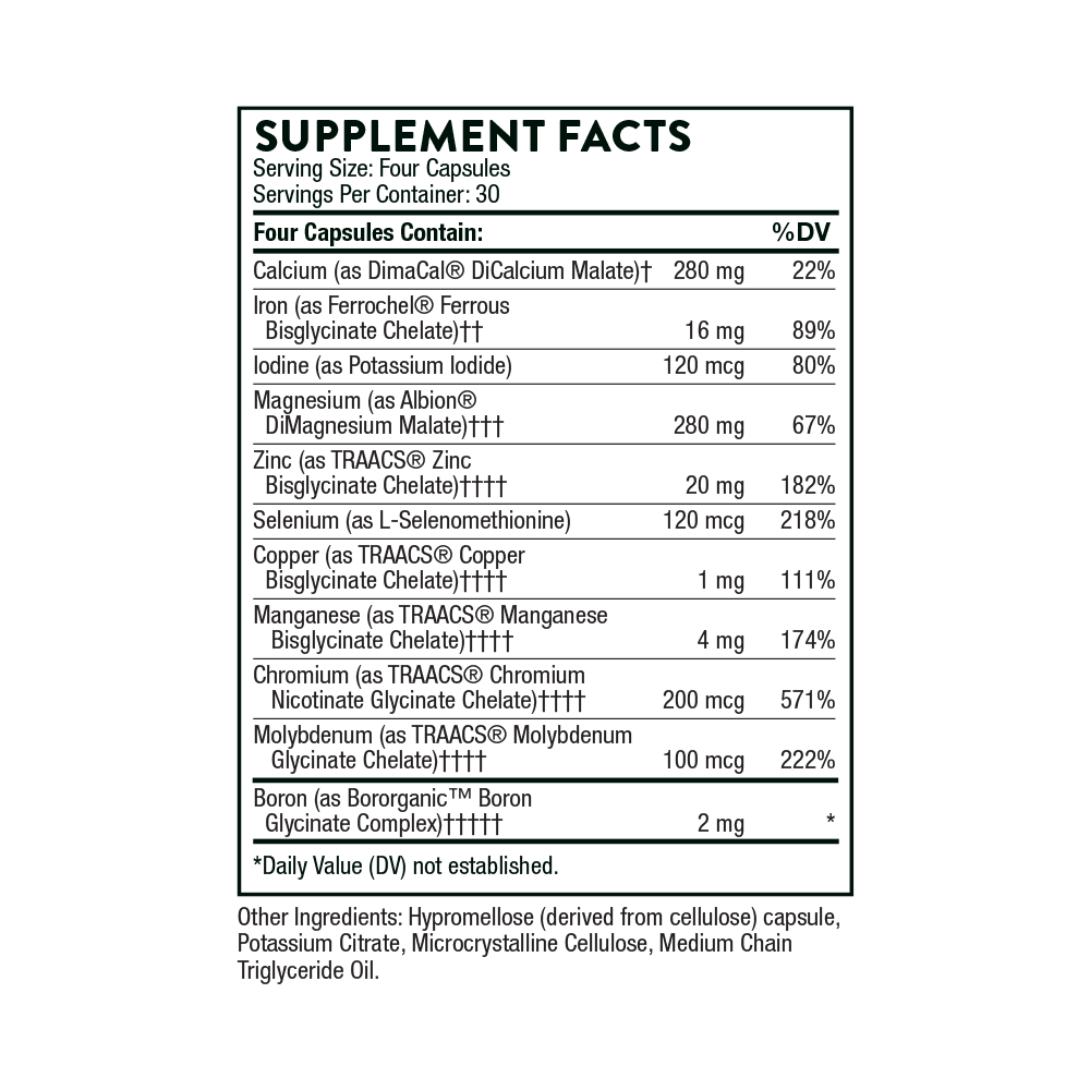 Tabela Nutricional BioMins II®