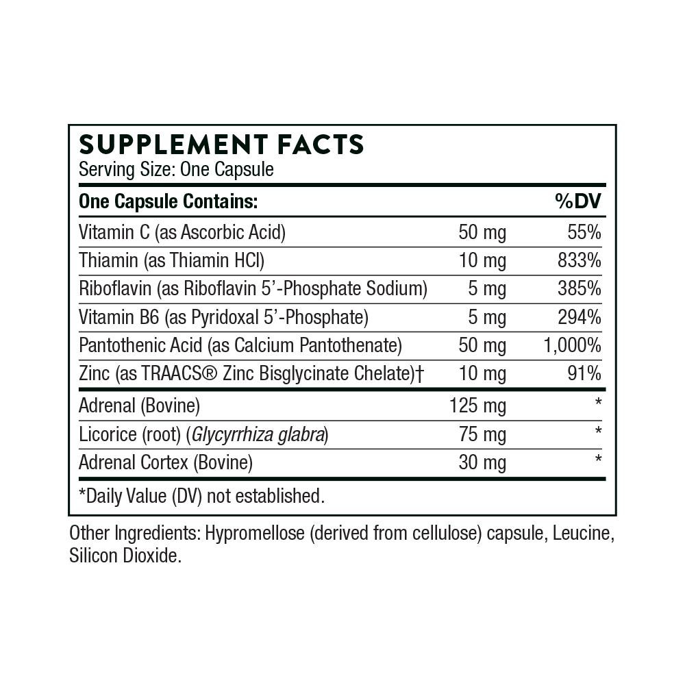 Tabela Nutricional Cortrex®
