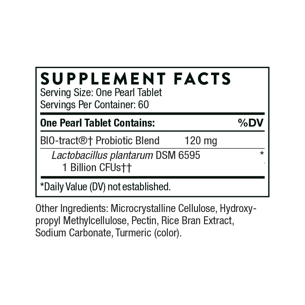 Tabela Nutricional FloraPro-LP Probiotic