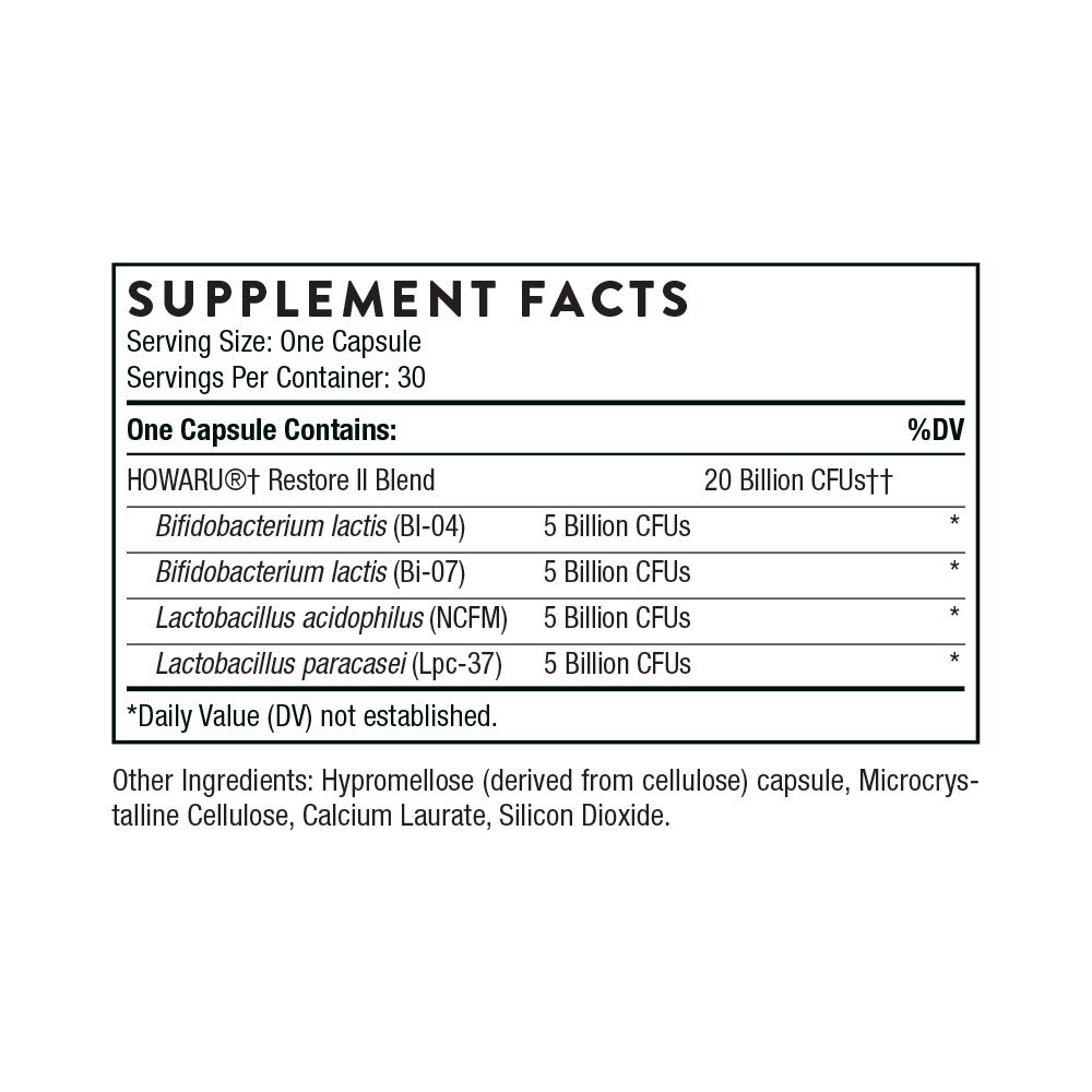 Tabela Nutricional FloraSport 20B®