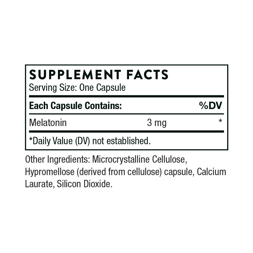 Tabela Nutricional Melaton-3™