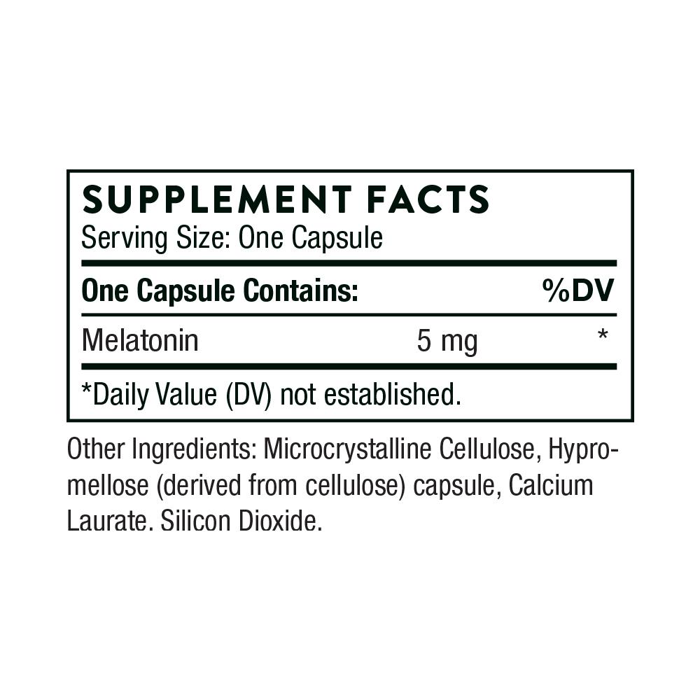 Tabela Nutricional Melaton-5™