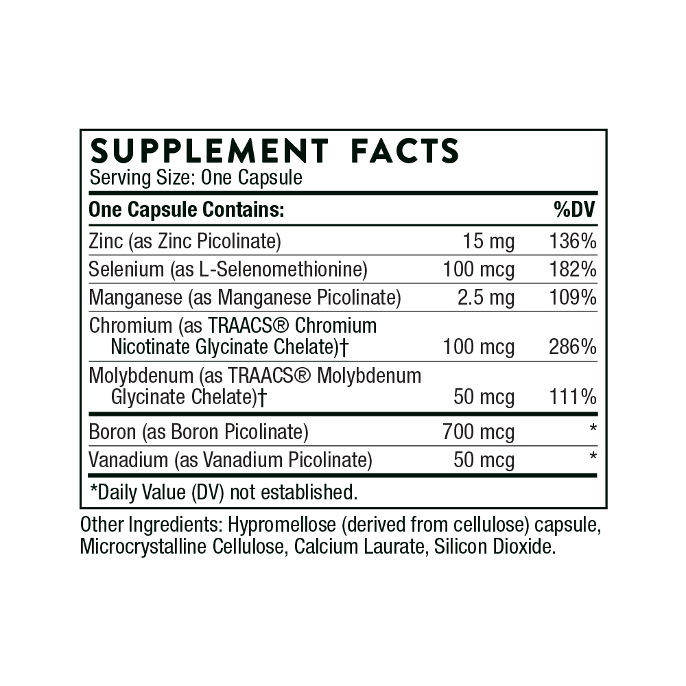 Tabela Nutricional Pic-Mins®