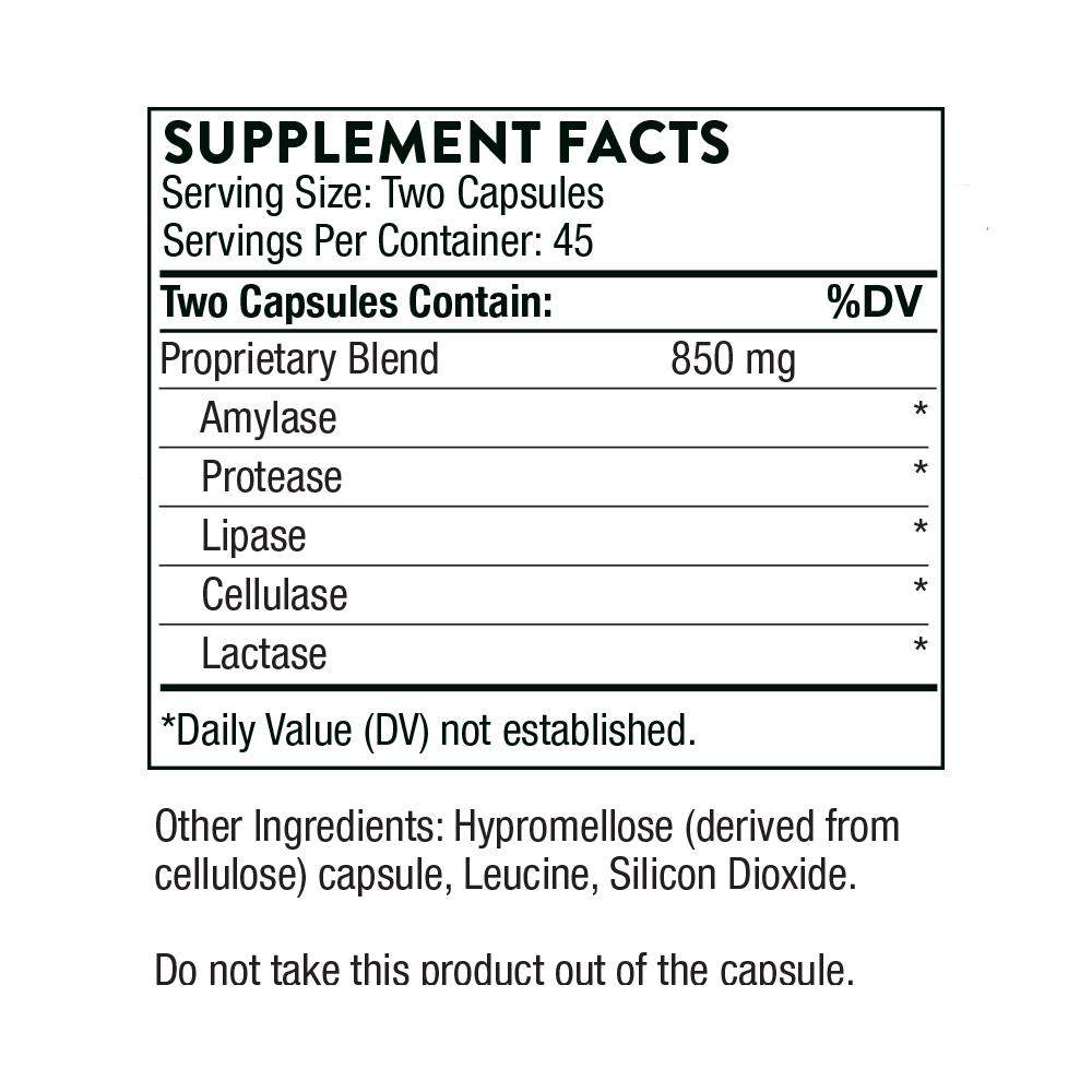 Tabela Nutricional Plantizyme®