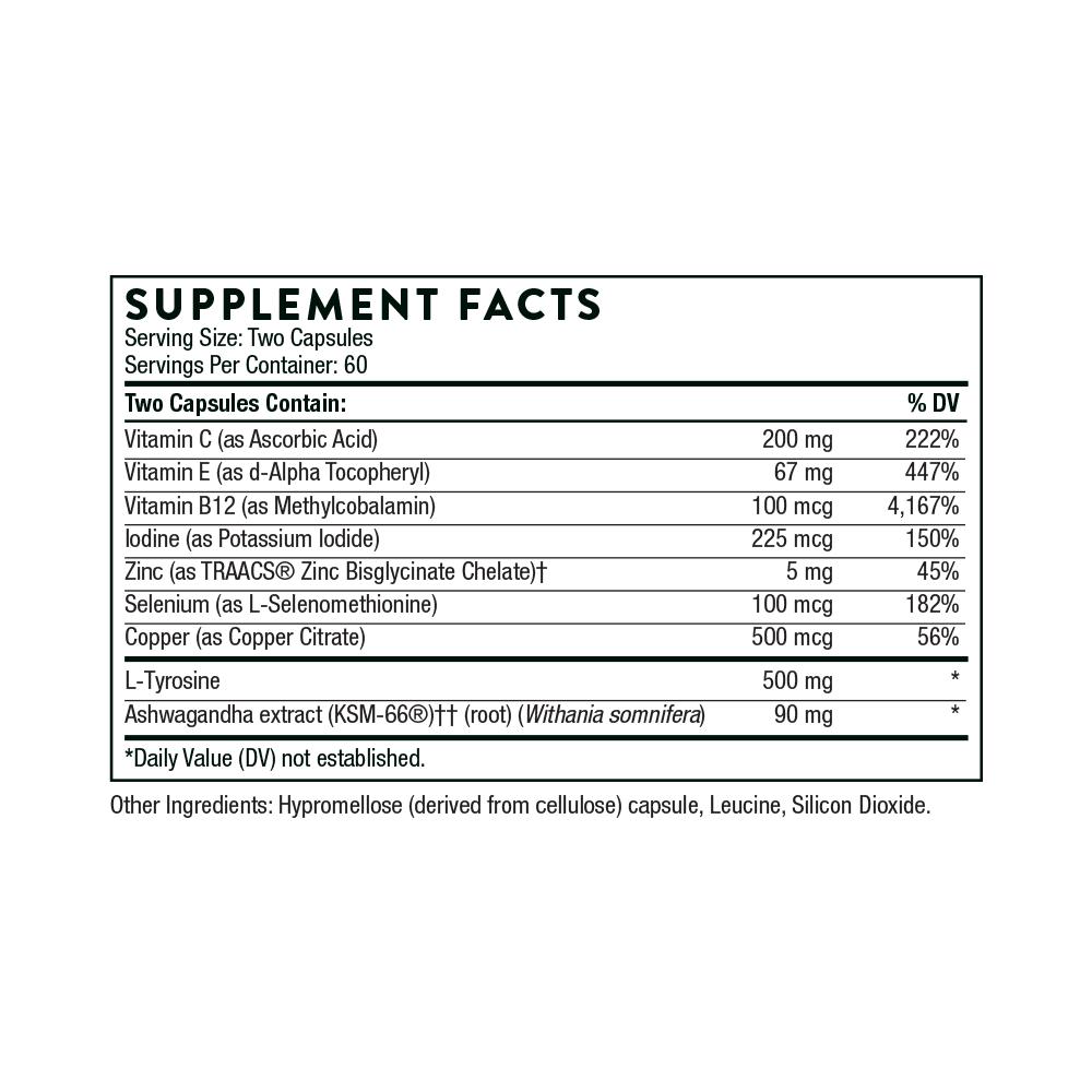 Tabela Nutricional Thyrocsin™