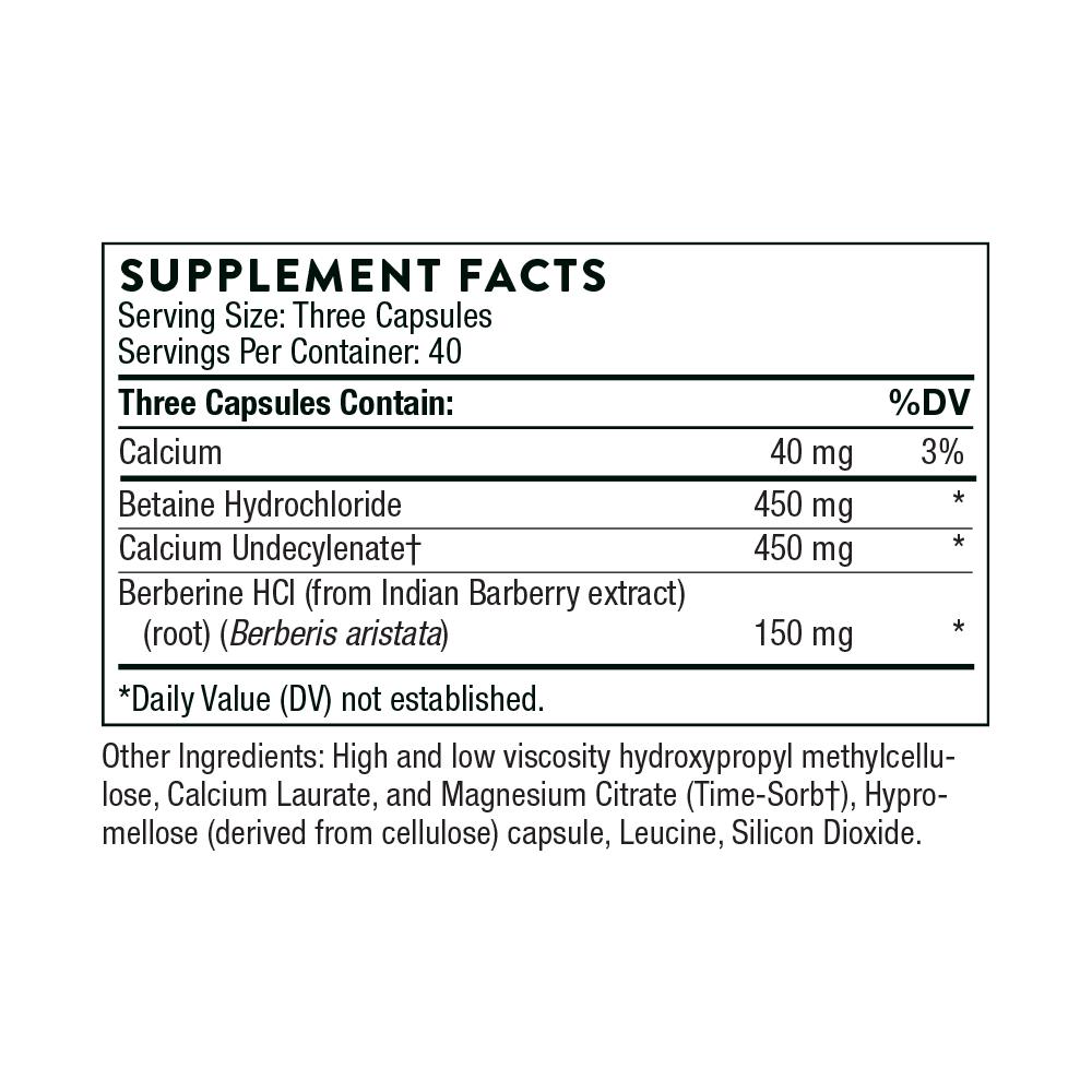 Tabela Nutricional Undecyn