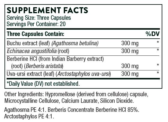 Tabela Nutricional Uristatin®